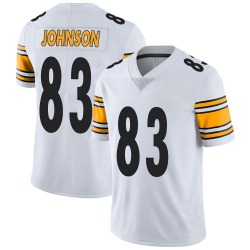 Nike Anthony Johnson Pittsburgh Steelers Men's Limited White Vapor Untouchable Jersey