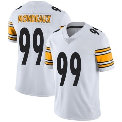 Nike Henry Mondeaux Pittsburgh Steelers Men's Limited White Vapor Untouchable Jersey