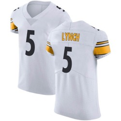 Nike Paxton Lynch Pittsburgh Steelers Men's Elite White Vapor Untouchable Jersey